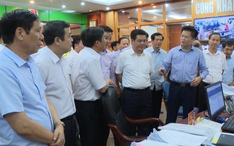 Đoàn công tác tỉnh Thái Bình thăm quan học hỏi kinh nghiệm cải cách hành chính tại Quảng Ninh