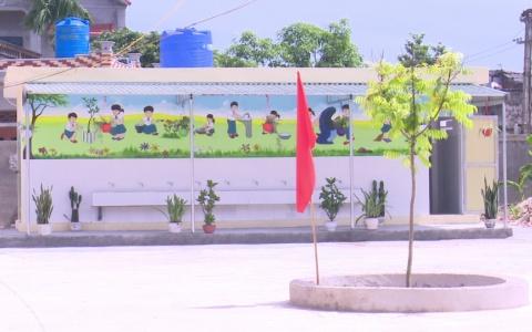 Xây dựng công trình vệ sinh cho trường học