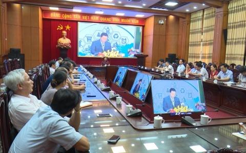 Hội nghị trực tuyến giảm thiểu chất thải nhựa trong ngành Y tế
