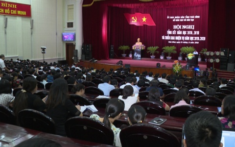 Ngành GD- ĐT triển khai nhiệm vụ năm học 2019 – 2020
