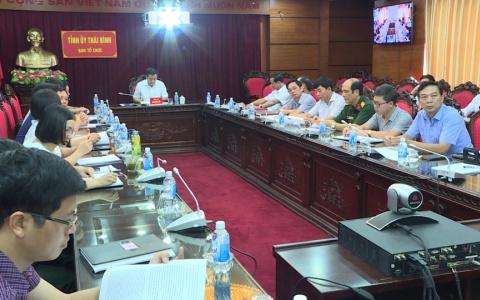 Góp ý vào dự thảo báo cáo tổng kết công tác xây dựng Đảng