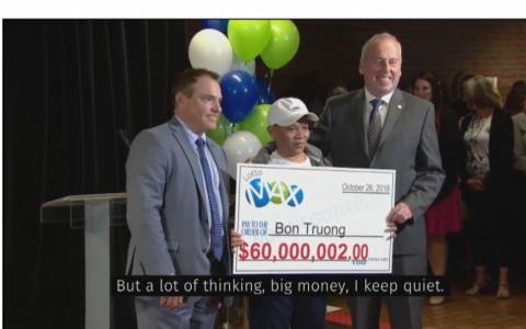 Người gốc Việt trúng sổ xố 1.300 tỷ đồng tại Canada