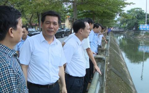 Khẩn trương khắc phục tình trạng ô nhiễm nước thải sinh hoạt trên các dòng sông ở thành phố Thái Bình