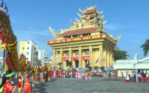 Đại lễ giỗ tổ họ Trần