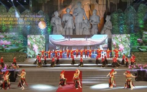 Hội tụ di sản văn hóa phi vật thể quốc gia