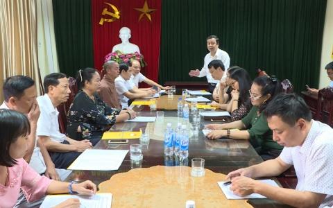 Gặp mặt đoàn đại biểu dự Đại hội đại biểu Toàn quốc MTTQ Việt Nam lần thứ IX