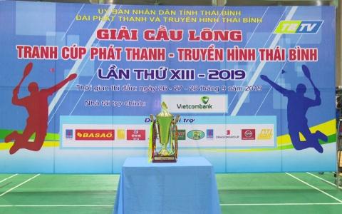 Tổng duyệt khai mạc Giải cầu lông cúp Phát thanh - Truyền hình Thái Bình