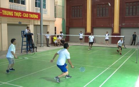 Giải thể thao chào mừng ngày truyền thống các ban của Đảng
