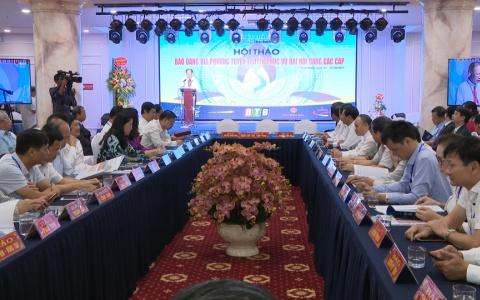 Hội thảo báo Đảng các tỉnh, thành phố khu vực phía Bắc mở rộng năm 2019