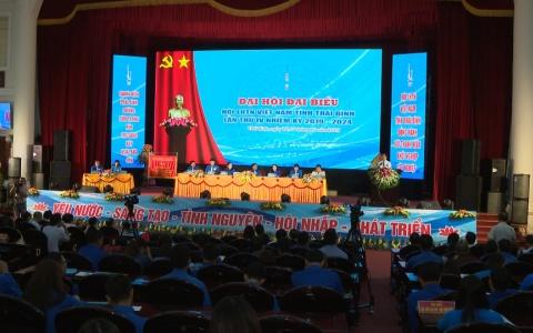 Đại hội đại biểu Hội thanh niên Việt Nam tỉnh Thái Bình lần thứ IV, nhiệm kỳ 2019-2024