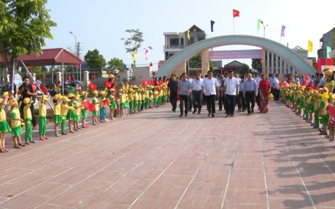 Đoàn Trung ương thăm mô hình nông thôn mới tiêu biểu huyện Quỳnh Phụ