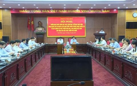 Triển khai giám sát việc xây dựng và phát triển văn hóa, con người Việt Nam