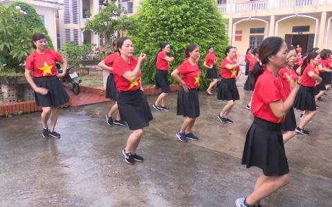 Phụ nữ Thái Thụy khỏe đẹp nhờ dân vũ thể thao