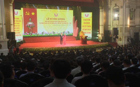 Thái Bình có 3 huyện và 1 xã được tuyên dương