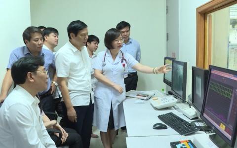 Giám sát quản lý trang thiết bị y tế tại bệnh viện đa khoa tỉnh