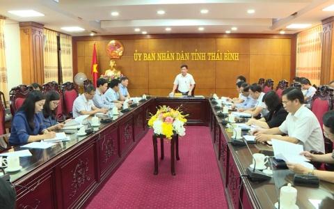 UBND tỉnh họp nghe về đề án phát triển đàn trâu bò thương phẩm