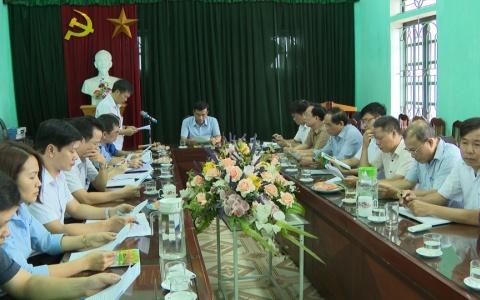 Chủ tịch UBND tỉnh kiểm tra tình hình sản xuất tại một số đơn vị, doanh nghiệp