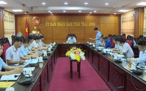 Báo cáo tình hình triển khai xây dựng, nâng cấp 1 số dự án tuyến đường trên địa bàn tỉnh