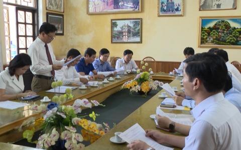 UBND tỉnh làm việc với Nhà hát chèo Thái Bình