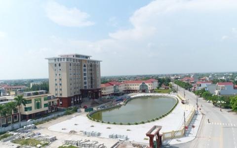 Tiền Hải phát triển đô thị cấp huyện