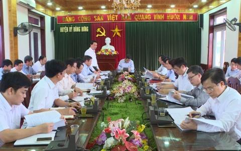 Công tác cán bộ khi sáp nhập các xã ở huyện Đông Hưng