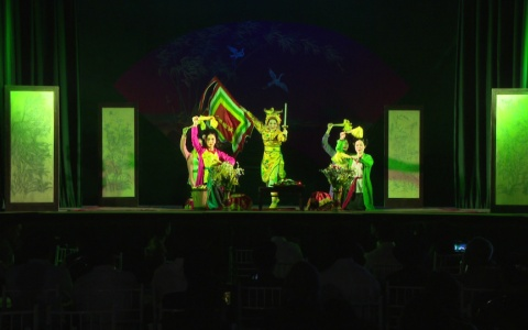 Ngày hội Đại đoàn kết thôn Tam Lạc 2 xã Vũ Lạc thành phố Thái Bình