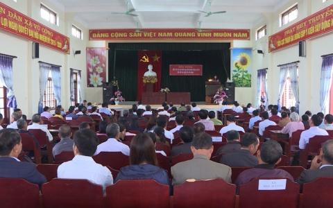 Tiếp xúc cử tri 20 xã huyện Kiến Xương