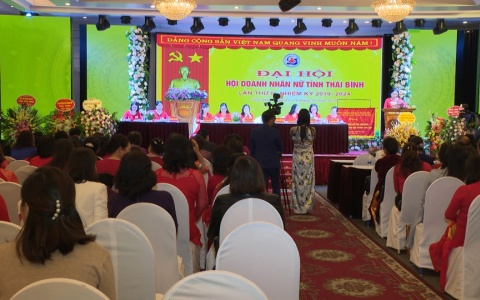 Đại hội doanh nhân nữ tỉnh Thái Bình khóa III