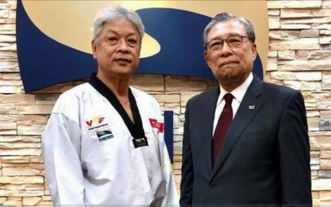 Võ sư Việt Nam đạt 9 đẳng huyền đai Taekwondo thế giới