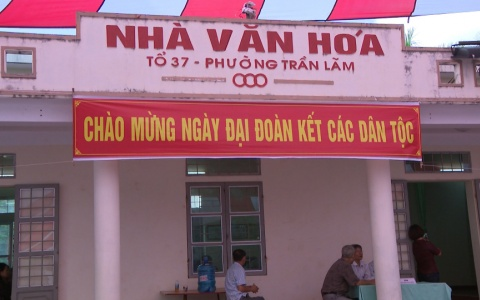 Ngày hội Đại đoàn kết toàn dân tộc phường Trần Lãm thành phố Thái Bình