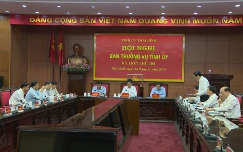 Thực hiện quy trình kiện toàn chức danh Phó chủ tịch UBND tỉnh Thái Bình