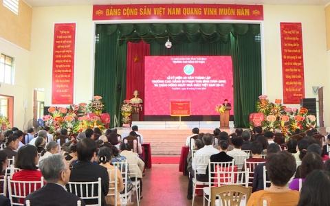 Trường Cao đẳng Sư phạm Thái Bình kỷ niệm 60 năm thành lập trường