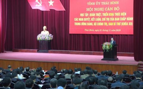 Quán triệt các Nghị quyết, Kết luận, Chỉ thị của Ban Chấp hành Trung ương Đảng, Bộ Chính trị, Ban Bí thư khóa XII