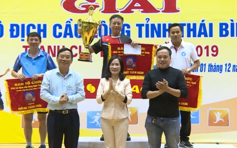 Bế mạc Giải vô địch cầu lông tỉnh tranh cúp Ba Sao năm 2019