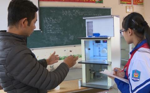 Nữ sinh sáng chế thiết bị báo và chữa cháy thông minh