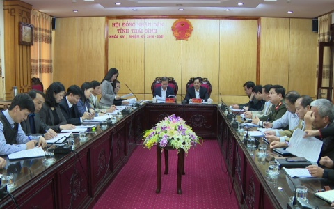 Chuẩn bị báo cáo và tờ trình trình kỳ họp thứ 9 HĐND tỉnh khóa XVI