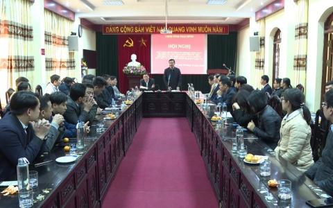 Chủ tịch UBND tỉnh làm việc với Sở Kế hoạch và Đầu tư