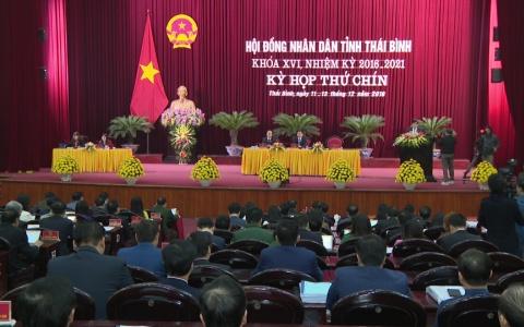 Khai mạc Kỳ họp thứ 9 HĐND tỉnh khóa XVI