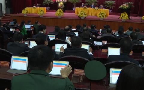 Đại biểu HĐND tỉnh thông qua 23 Nghị quyết