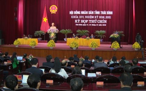 Bế mạc Kỳ họp thứ 9, HĐND tỉnh khóa XVI