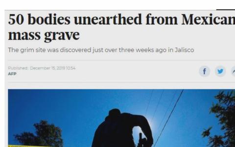 Mexico phát hiện 50 thi thể tại một trang trại
