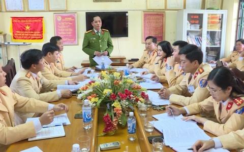 Cảnh sát giao thông Thái Bình ra quân đảm bảo an ninh trật tự, an toàn giao thông