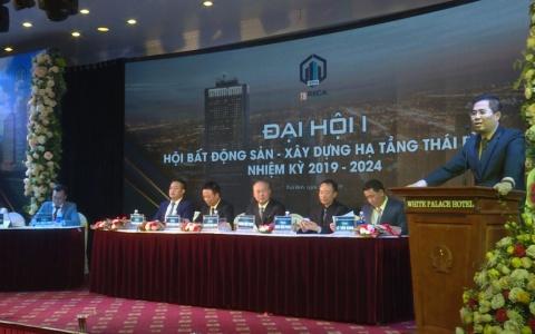 Hội bất động sản và xây dựng hạ tầng Thái Bình tổ chức đại hội lần thứ nhất, nhiệm kỳ 2019-2024