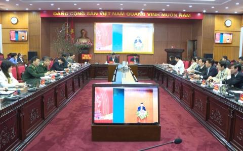 Triển khai nhiệm vụ năm 2020 của ngành nội chính Đảng