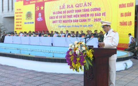 Công an tỉnh tăng cường 294 cán bộ, chiến sĩ về cơ sở bảo vệ Tết nguyên đán