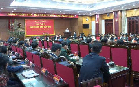 Hội nghị cán bộ chủ chốt của tỉnh