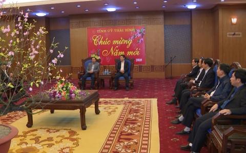 Tổng công ty Khí Việt Nam chúc tết Tỉnh ủy