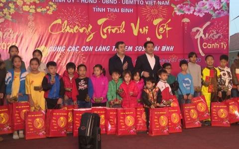 Vui Tết cùng các con làng trẻ SOS Thái Bình