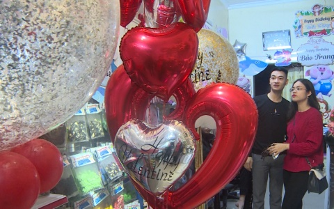 Sôi động thị trường Valentine