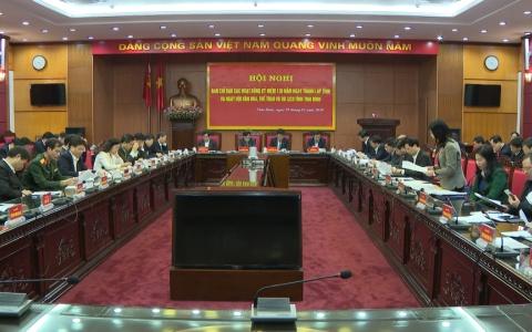 Thái Bình sẵn sàng cho hoạt động kỷ niệm 130 năm Ngày thành lập tỉnh và Ngày hội văn hóa, thể thao và du lịch